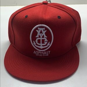 Asphalt Yachi club hat. Never worn